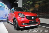 Smart forfour crosstown edition showcased at IAA 2017 - Live