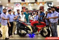 Yamaha Fazer 25 customer deliveries begin in India