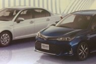 Toyota Corolla Axio & Toyota Corolla Fielder minor refresh leaked