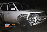 Tata Safari Storme Army-spec spied in Pune