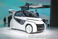 Toyota Concept-i RIDE at the 2017 Tokyo Motor Show - Live