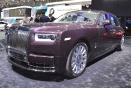 2018 Rolls-Royce Phantom EWB showcased at the 2017 Dubai Motor Show