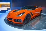 2019 Chevrolet Corvette ZR1 showcased at the 2017 Dubai Motor Show