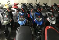 Aprilia SR 150 new colour variants spotted at a dealership