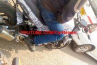 Benelli Leoncino spied in India