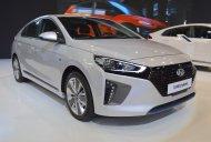 Hyundai Ioniq hybrid showcased at the 2017 Dubai Motor Show