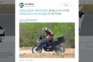 Production KTM 790 Adventure spotted