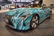 Lexus Fluidity of Hybrid Electric concept showcased at the 2017 Dubai Motor Show