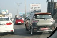 Mahindra KUV100 Electric spotted for the first time