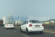 VW Ameo 'Sport' spotted on test in Maharashtra
