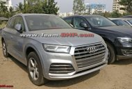 2017 Audi Q5 spotted at a dealership yard in India