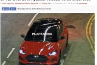 2018 Hyundai Veloster spied completely undisguised
