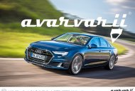 2019 Audi A4 (facelift) - Rendering