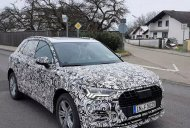 2018 Audi Q3 wearing production body spied on test