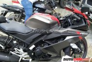 Yamaha R15 v3.0 visits a dealership in India