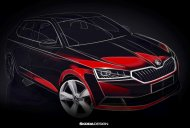 2018 Skoda Fabia (facelift) teased, to debut at Geneva Motor Show