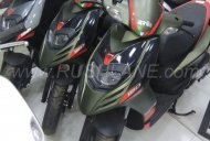 New colour variants of Aprilia SR 150 spotted again