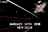 Hero Xtreme NXT (Production Hero Xtreme 200S) India unveil on January 30
