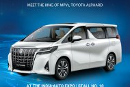 2018 Toyota Alphard (facelift) to have Indian debut at Auto Expo 2018