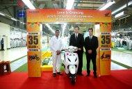 Honda Two-wheelers crosses 35 million sales mark in 17 years