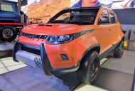 Mahindra KUV100 Adventure Edition showcased