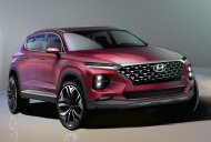 First sketches of new generation Hyundai Santa Fe released