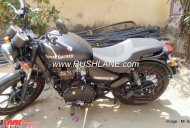 Royal Enfield Thunderbird 350 converted to 350X for INR 20,000