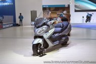 Suzuki Burgman 650 - Auto Expo 2018 Live