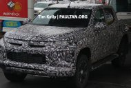 2018 Mitsubishi Triton (facelift) with Dynamic Shield front-end spied
