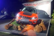 Jeep Compass Trailhawk (diesel AT) displayed in India at a private event