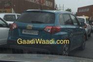 Suzuki Vitara spied testing in India