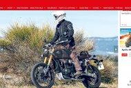 Triumph Bonneville Scrambler 1200 spied