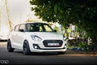 India's first 'slammed' 2018 Maruti Swift