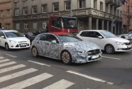 Mercedes-AMG A 35 spied testing in Prague