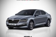 2018 Skoda Superb (facelift) - Rendering