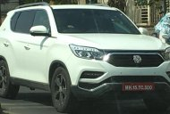 G4 SsangYong Rexton (Mahindra Rexton) spied testing in India again