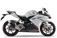 Honda CBR 250RR Pearl Glare White colour introduced in Japan