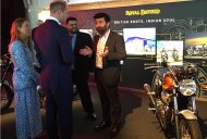 Royal Enfield Interceptor 650 grabs Prince Williams' attention