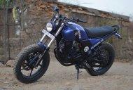 Yamaha FZ-S Scrambler mod by Hustler Moto