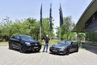Mercedes-AMG GLE 43 4MATIC Coupe OrangeArt and Mercedes-AMG SLC 43 RedArt launched