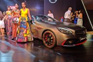 Mercedes-AMG GLE 43 4MATIC Coupe OrangeArt and Mercedes-AMG SLC 43 RedArt showcased [Update]
