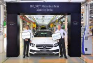 100,000th Mercedes-Benz vehicle rolls off the assembly line in India