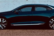 Tata E-Vision Sedan Concept snapped outdoors for the first time