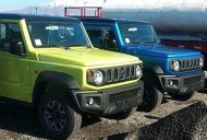 2019 Suzuki Jimny Sierra spotted in the flesh in Kinetic Yellow and Brisk Blue colours