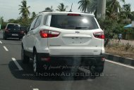Mid-spec Ford EcoSport 4WD spotted on test near Pondicherry