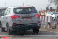 G4 SsangYong Rexton (Mahindra Rexton) continues testing on Indian roads