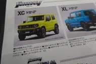 New Suzuki Jimny specifications and variant-wise features leaked