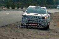 IAB reader snaps Mahindra S201 (SsangYong Tivoli based compact SUV) undergoing testing