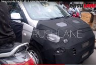 More spyshots of new Hyundai Santro (AH2) interior surfaces [Update]