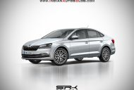 Next-gen Skoda Rapid for India - IAB Rendering